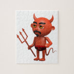 pantalones del diablo 3d puzzle