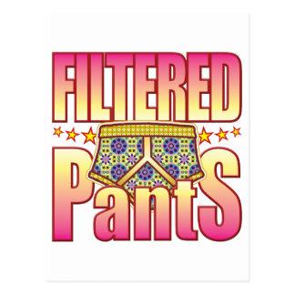 Pantalones floridos filtrados postal