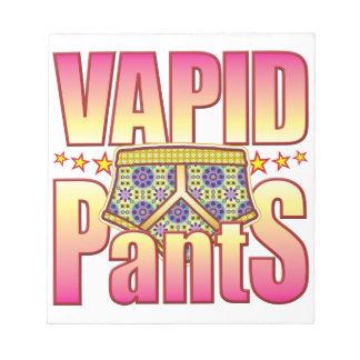 Pantalones floridos sosos blocs