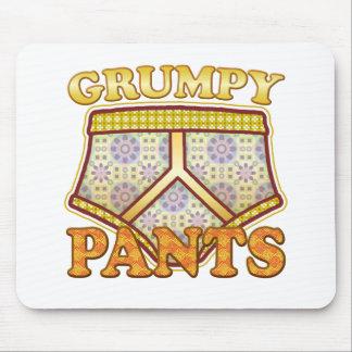 Pantalones gruñones alfombrillas de ratón
