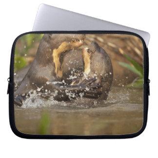 Pantanal NP, Brazil, Giant River Otter, Computer Sleeve