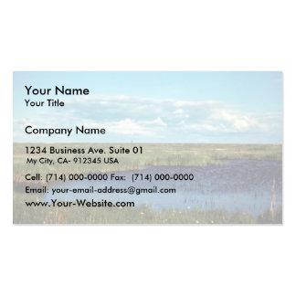 Pantano de la juncia tarjeta de negocio