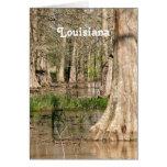 Pantano de Luisiana Felicitaciones