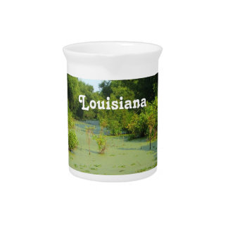 Pantano de Luisiana Jarra Para Bebida