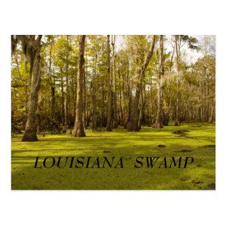 Pantano de Luisiana LA PANTANO de LUISIANA Tarjetas Postales