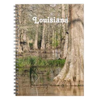 Pantano de Luisiana Libros De Apuntes