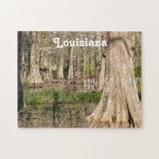 Pantano de Luisiana Puzzle Con Fotos