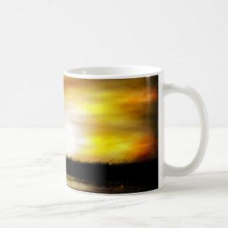 Pantano oscuro taza de café