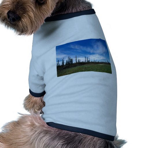Pantano y picea esporádica camisetas mascota