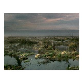Pantanos muertos postal