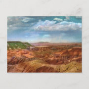 Panted Desert Vintage Postcard