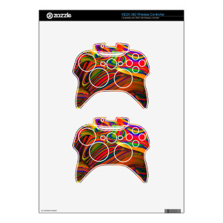 PANTED WORLD 448 MANDELBULB 3D. FRACTAL IMG XBOX 360 CONTROLLER DECAL
