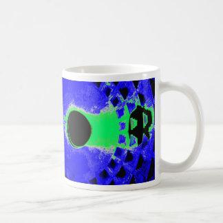 Panteón 2 colores taza de café