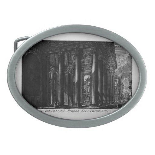 Panteón de Juan Piranesi- Hebillas Cinturón Ovales