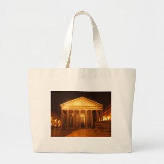 Panteón en la noche bolsa tela grande
