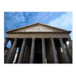 panteón en Roma Tarjeta Postal
