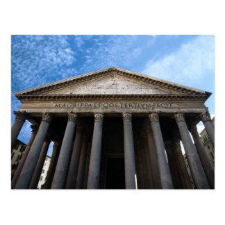 panteón en Roma Tarjetas Postales