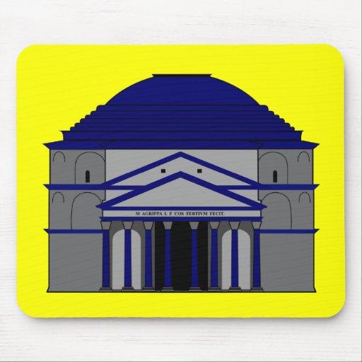 Panteón, inspiraciones de Roma Mousepad