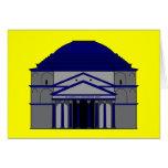 Panteón, inspiraciones de Roma Tarjeton