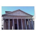 Panteón, Roma, Italia Felicitacion