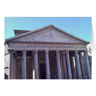 Panteón, Roma, Italia Tarjeta Pequeña