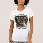 Pantera de la Florida Camisetas