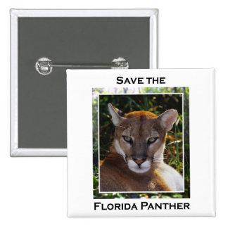 Pantera de la Florida Pin