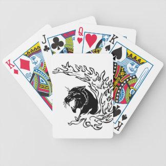 Pantera negra baraja de cartas