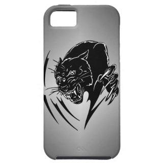 Pantera negra iPhone 5 cárcasas