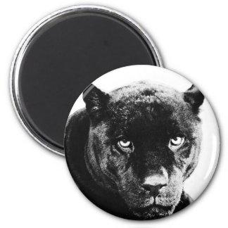 Pantera negra Jaguar Imán Redondo 5 Cm