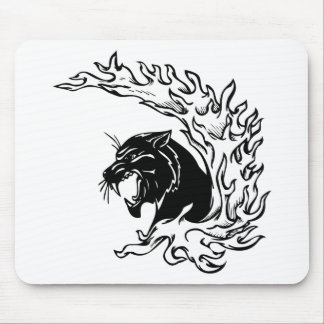 Pantera negra tapetes de ratones
