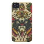 pantera y daga Case-Mate iPhone 4 protectores