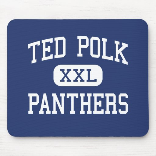 Panteras Carrollton medio Tejas de Ted Polk Mouse Pad