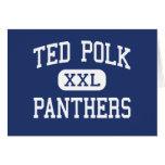 Panteras Carrollton medio Tejas de Ted Polk Felicitación