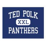 Panteras Carrollton medio Tejas de Ted Polk Postales