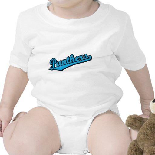 Panteras en colores de encargo trajes de bebé