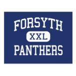 Panteras Forsyth medio Missouri de Forsyth Tarjetas Postales