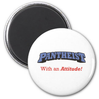Pantheist/actitud Imán Redondo 5 Cm