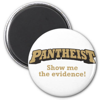 Pantheist / Evidence 2 Inch Round Magnet