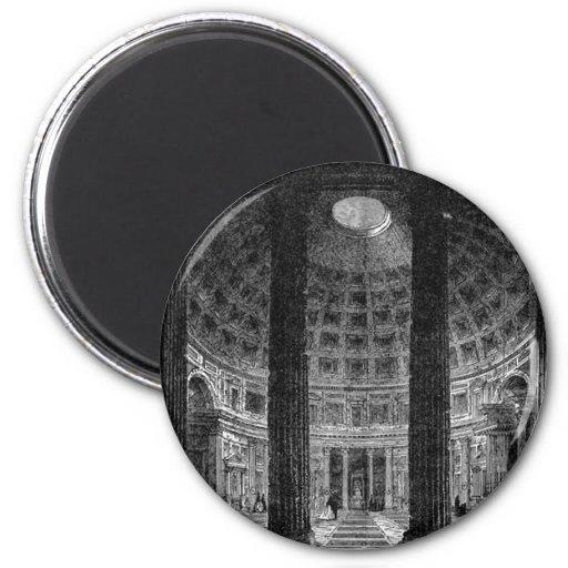 Pantheon 2 Inch Round Magnet