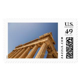 Pantheon - Athens, Greece - Postage Stamp