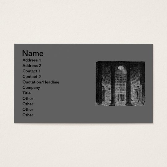 Pantheon Business Card