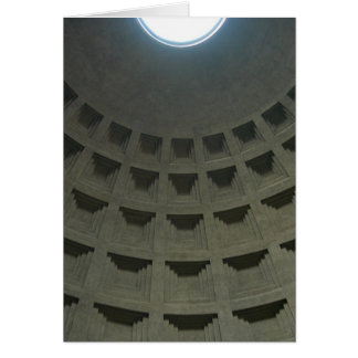 Pantheon Ceiling (Blank) Stationery Note Card