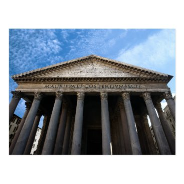 sumners pantheon in rome postcard