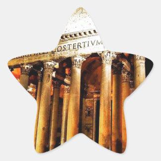 Pantheon In Rome Star Sticker