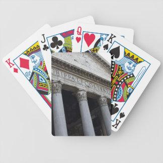 Pantheon, Italy Bicycle Playing Cards