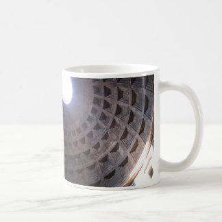 PANTHEON CLASSIC WHITE COFFEE MUG