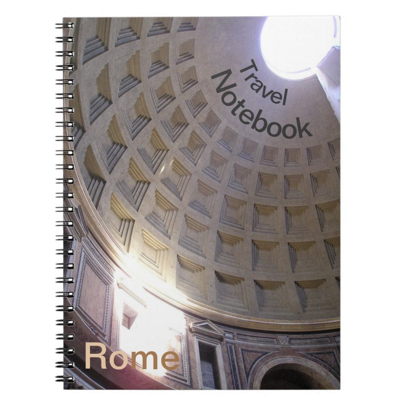 Pantheon Rome Destination Travel Notebook