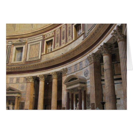 Pantheon, Rome, Italy Card