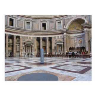 Pantheon, Rome, Italy Post Card